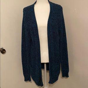 Cozy Blue Cardigan